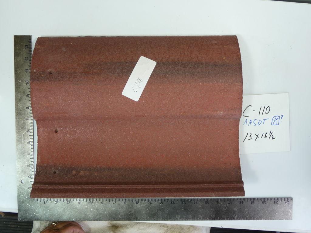 PRODUCT: C-110 > S Barrel - Concrete Monier Lifetile 13 x